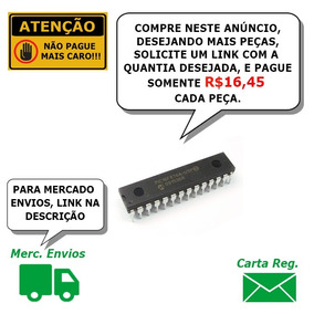 Microcontrolador Pic16f876a 1 Pç Carta Reg. Incluso W