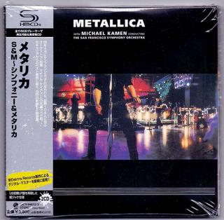 Cd Metallica S&m Duplo (+obi Japones) Lacrado Frete Gratis
