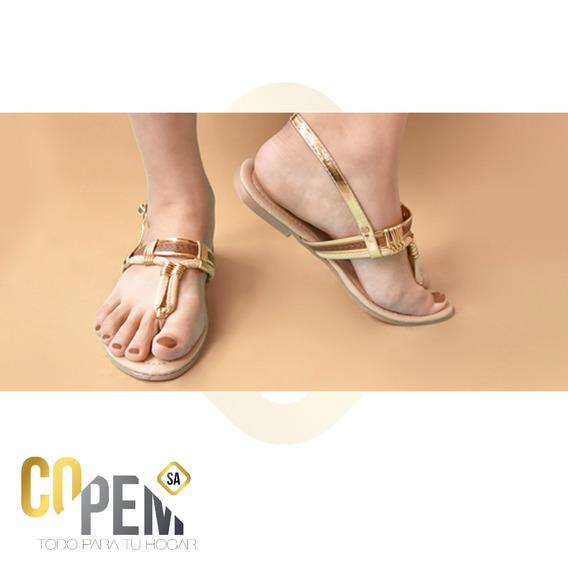 Sandalias Para Dama Diseños Exclusivos Cómodas A La Moda