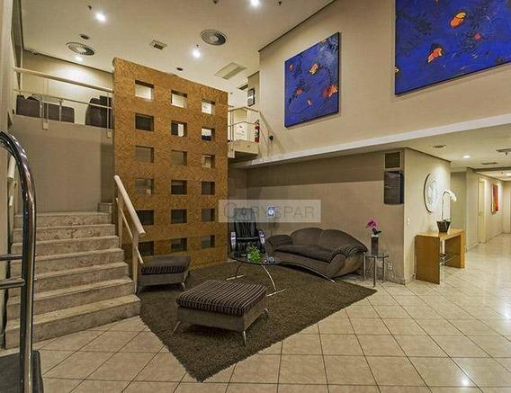 Flat Com 1 Dormitório Para Alugar, 30 M² - Higienópolis - São Paulo/sp - Fl0068