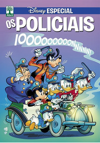 Disney Especial Os Policiais - Abril - Bonellihq Cx249 D18
