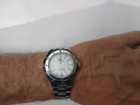 Relógio Orient Quartz Inox Masculino Ótimo