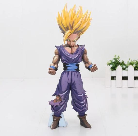 Figura De Gohan Tipo Anime De Dragon Ball