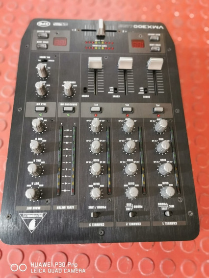 Mixer Behringer 3 Canais Dj Pro Mixer Vmx-300 Usb Perfeito!!