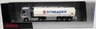 Camión Cisterna Mercedes Benz Actros - Escala 1/87 H0 Schuco