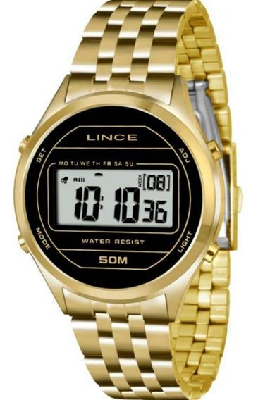 Relógio Feminino Lince Sdph021l Digital Quartz Casual Luxo