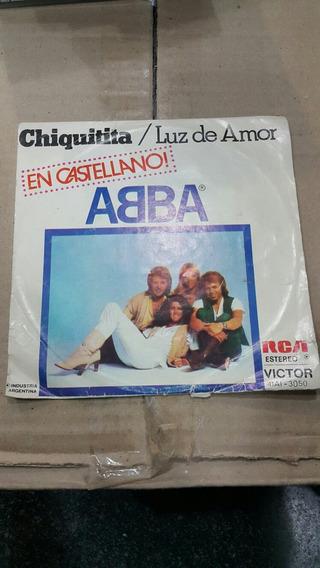 Simple Single Abba Luz De Amor Chiquitita En Castellano