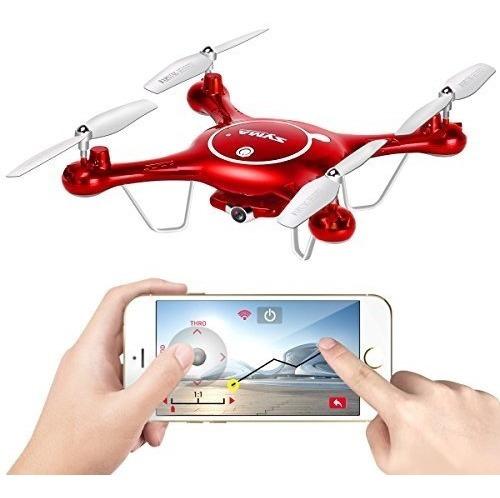 Drone Syma X5uw Barômetro Câmera Hd Wi-fi Fpv 720p+1batextra