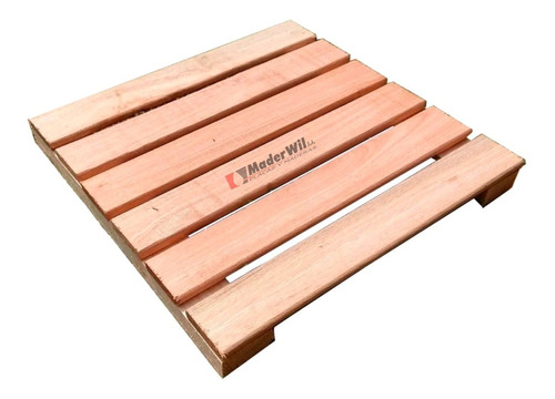 Imagen 1 de 9 de Combo X 8 Baldosas Deck Eucalipto  60 Cm X 60 Cm - Maderwil