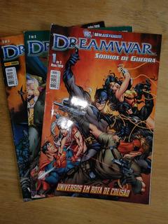 Revista Dreamwar Sonhos De Guerra - Dc Especial - N° 1 A 3