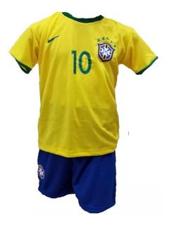 Conjunto Seleção Brasileira Neymar 2018 - Pronta Entrega