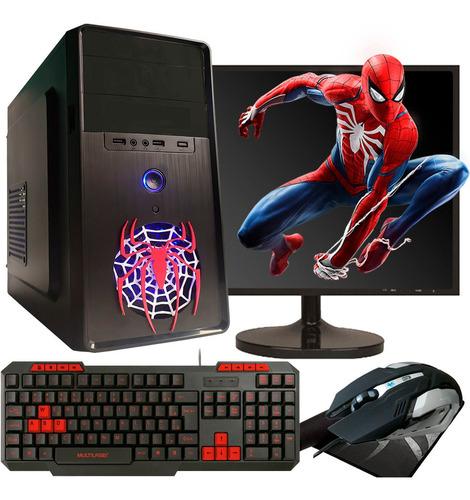 Pc Gamer Barato Intel Core I3 Hd 500gb Monitor Kit Gamer