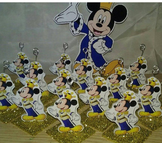 Souvenirs Mickey Principe Souvenir X 40 + Grande De Regalo