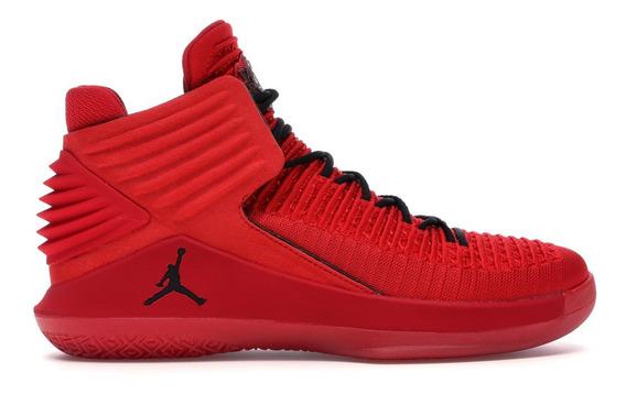 Tênis Jordan 32 Xxxll Pf Vermelho Novo Com Caixa C/caixa