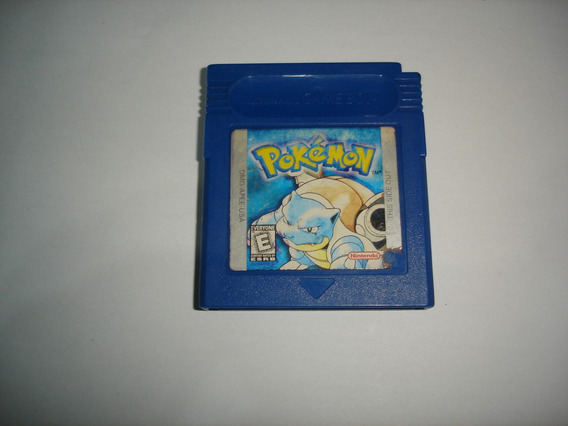 Pokemon Azul Blue Original Salvando Color C04