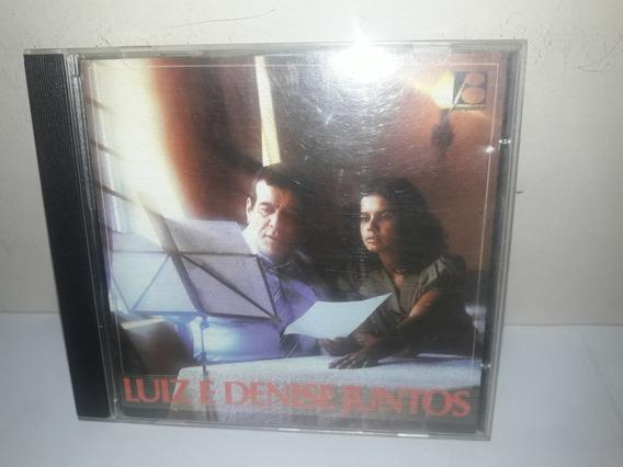 Cd Luiz De Carvalho E Denise Juntos Vol.2 Semi Novo