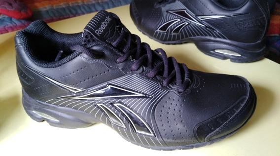 Zapatilla Reebok Running Negra 41 Usada