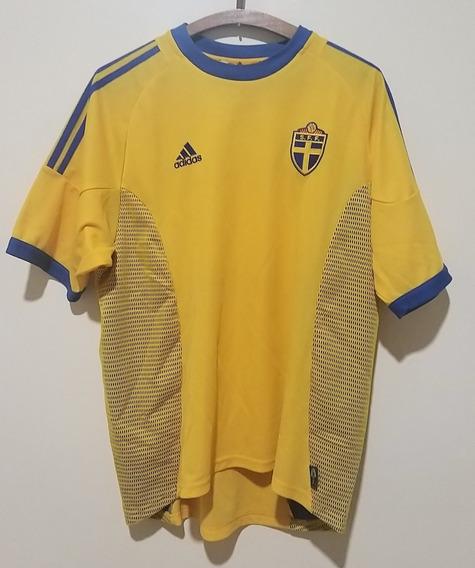 Camiseta Selección Suecia Mundial 2002
