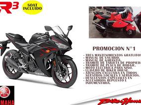 Moto Yamaha R3 En Promocion Con Soat Incluido Con Regalos
