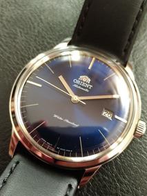 Orient Bambino Bauhaus 2nd Ger V3 Azul Automatico