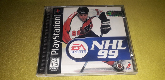 Nhl 99 - Playstation 1 - Black Label - Original Americano