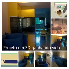 Decoração Em 3d De Interiores Residenciais E Comerciais