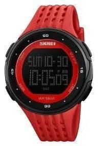 Relógio Skmei Vermelho Masculino