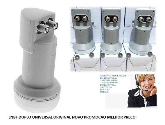 Lnb Duplo Universal Banda Ku Preço Baixo