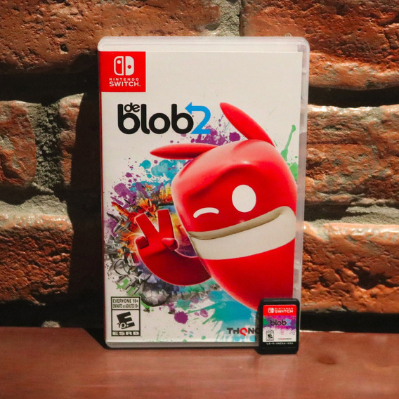 De Blob 2 Mídia Física Em Português Original Americano Completo Nintendo Switch