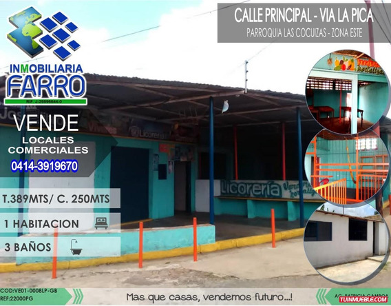 Venta De Local Comercial Via La Pica Ve01-0008lp-pg