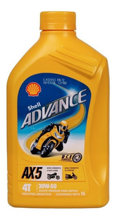 Aceite Shell 4t 20w 50 Sl Jaso Ma Mineral. Panther Motos