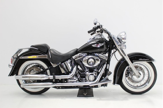 Harley Davidson Softail Deluxe 2015 Preta