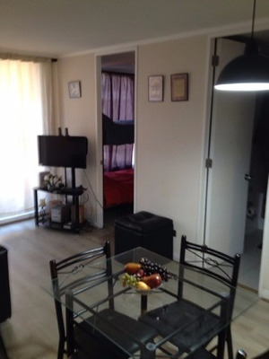 Renta Departamento En Santiago Centrico 2 Hab Y 2 Baños