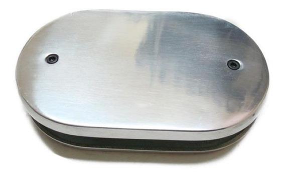 Base Oval Para Filtro De Ar Esportivo - Carburador Weber
