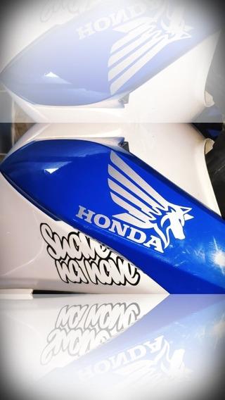 Par Adesivos Honda Lobo+1 Suave Na Nave