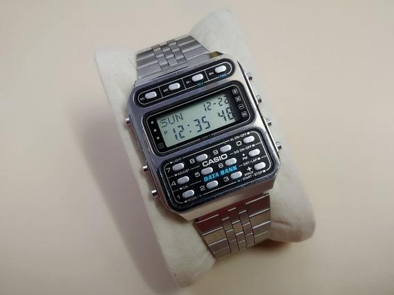 Raríssimo Relógio Casio Cd-401 - O Primeiro Databank Casio!