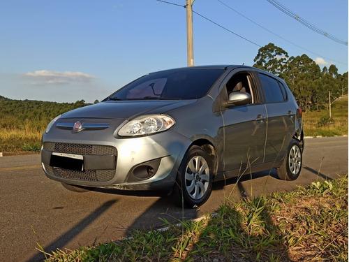 Fiat Palio Attractive  Evo, Fire,  8v  1.0  Cinza  2013