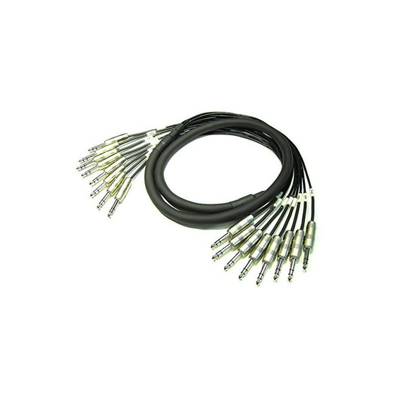 Kirlin Cable Mt-805pr-5m 16.4 Pies 8 Canales Multi-track 1/4