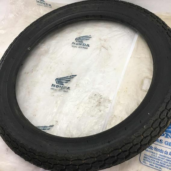 Pneu Cg Bolinha Ml Original Honda Dunlop K98 Novo 2.75 - 18