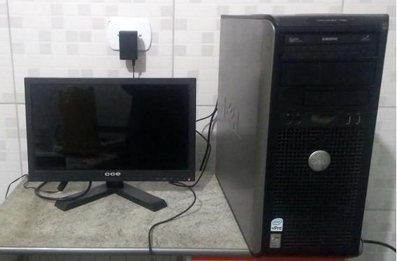 Computador Dell Optiplex 755 Core2duo E8400 320gb Completo