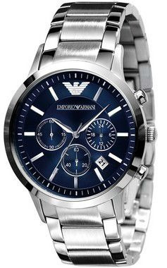 Relógio Emporio Armani Ar2448 Dial Azul