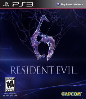 Resident Evil 6 Juego Digital Ps3