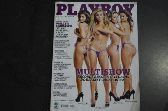 Playboy 446 14 Gatas Casa Bonita Revista
