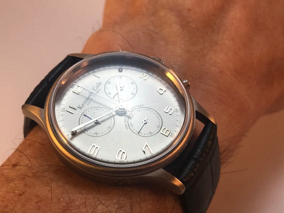 Relógio De Pulso - Kenneth Cole New York Chronograph - Lindo