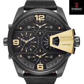 Relógio Diesel Masculino Uber Chief Black Dz7377/0pn