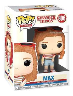Funko Pop Max Stranger Things 806 Original Scarlet Kids