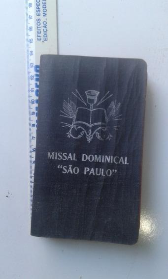 Bolsilivro Missal Dominical São Paulo - Vieira - Pasquarelli