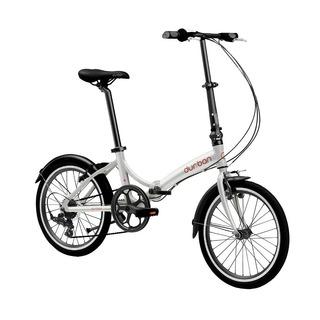 Bicicleta Dobrável Rio Aro 20 6 Marchas Prata Durban