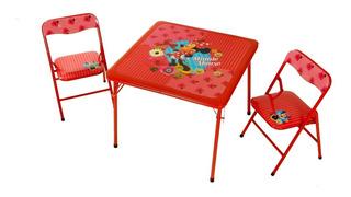 Set Mesa Y Silla Infantil Mickey Minnie Disney Babymovil
