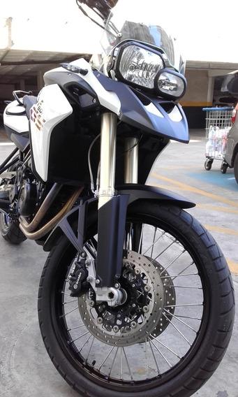 Bmw F800 Gs Ano 2014 Branca / Segundo Dono Impecável